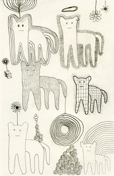 Dan Doodles, drawing, Pencil on paper - Carol Es