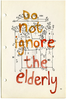 The Elderly - Carol Es - http://esart.com