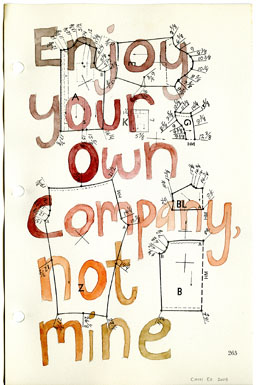 Enjoy Your Own Company - Carol Es - http://esart.com